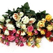 """Цветок искусственный """"Роза флорибунда букет КР60028"""" фото"""