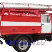 Автоцистерна пожарная АЦ 2,2-40 (33086) ВЛ на шасси ГАЗ-33086 фото