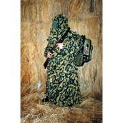 Халат маскировочный для охотника Кикимора М-219 фото