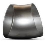 Отвод стальной чёрный 45 гр. Ду426х8 фото