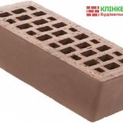 Клінкерна цегла Керамейя КлінКЕРАМ Класика ОНИКС ПР-1 36% 250x120x65 мм фото