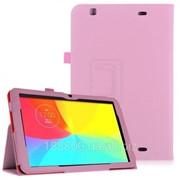Чехол-книжка Кожаный TTX для LG G Pad 10.1 (V700) розовый с функцией подставки фото