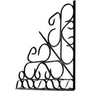 Ограда художественная металлическая фото