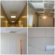 Отопительная потолочная панель СТЕП для павильона торгового 340 Вт П/1,20 х 0,59 фото