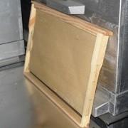 Рамка гнездовая с вощиной фото