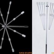 Зонтик огненный фото