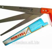 Ножовка универсальная с тремя сменными полотнами фото