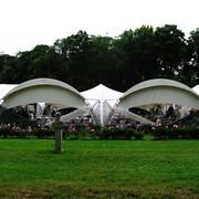 Арочный шатер 10*10 фото