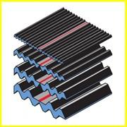 Подкладки bі-Trapezowy® CALENBERG профилированные, неармированные эластомерные, изолируют ударные звуки и колебания, сгибают соединение строительных элементов, пр-во Jordahl & Pfeifer фото