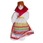 Кукла Семёновна для хранения пакетов фото