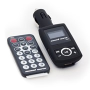 FM11 SoundWave FM-модулятор, Remote, Чёрный фото