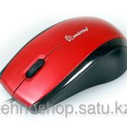 Мышь проводная Smartbuy 101 PS/2 Red/Black SBM-101P-RK / 40 фото