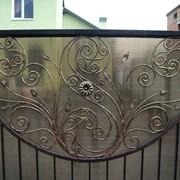 Оградка из художественной ковки № 2 фото