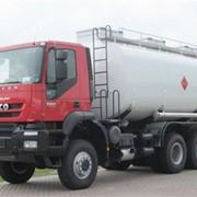 Бензовоз IVECO TRAKKER 6x6 (топливная автоцистерна Ravasini) фото