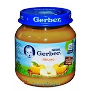 Пюре Gerber 130г яблоко с 4мес фото