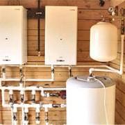 Монтаж системы отопления со всеми профф. расчетами теплопотерь фото