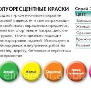 Краски светящиеся флуоресцентные в Молдове фото