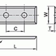 Сменные ножи с 4х сторонней заточкой 29,5×12×1,5 С 14 мм Ceratizit 80360082 фото