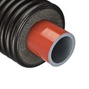 Труба для отопления полибутеновая 50 мм, с изоляцией фото