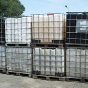 Химические емкости, 1000 куб б/у, ширина 1,20м, высота 1,0м, диаметр 1,0м, комплект краник фото