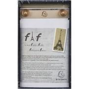Блокнот настольный с подложкой для записей, перфор., А6 Блок Париж FAF PAD фото