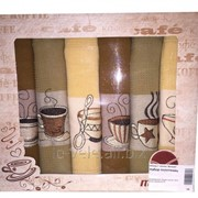 Набор вафельных кухонных полотенец НВПК 9-098 фото