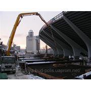 Аренда бетононасосов «Мрия». С 1 июня 2010 г. снижена цена!!! фото