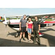 Полет на самолете Cessna-172 - 20 минут фото