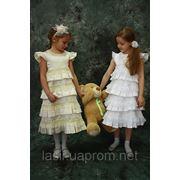 Детское нарядное платье фотография