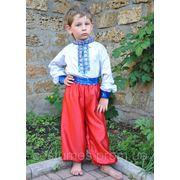 Национальный костюм Украинский для мальчиков на 4,5.6.7,8,9,10 лет фото