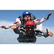 Прыжок с парашютом в тандеме фото