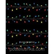 Гирлянда Luca цветная 12.5 м, 500 LED-ламп для дома и улицы фото