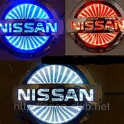 3D LED эмблема Nissan | Ниссан фото
