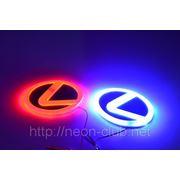Горящая задняя эмблема Lexus | Лексус фото