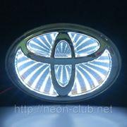 3D LED эмблема Toyota | Тойота фото