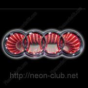 3D LED эмблема Audi | Ауди фото
