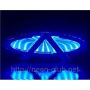 3D LED эмблема Chery | Чери LED 13x5cм фото
