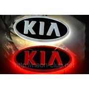 Горящая задняя эмблема KIA | КИА фото