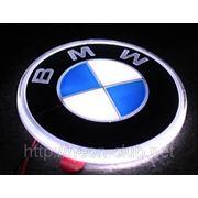 Горящая задняя эмблема BMW | БМВ фото