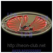3D LED эмблема Lada | Лада 12,5x5,5cм фото