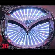 3D LED эмблема Mazda | Мазда фото