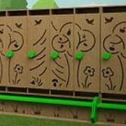 Noname Шкаф детский для одежды со скамьей (вариант 1) арт. MKr24119 фото
