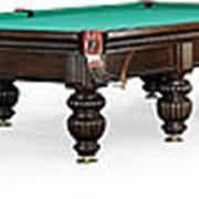 Бильярдный стол для русского бильярда Tower 12ф (черный орех) фото