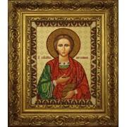 Рамка для иконы вышитой бисером VIP Багет №82 фото