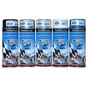 Аэрозольные термостойкие краски «Turbo Racing» 400мл. (производитель KTJ aerosols) фото