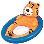 """Круг для плавания с сиденьем """"Животные"""", от 1 до 3 лет, МИКС фото"""