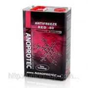 Антифриз красный RED -80 4л. фото
