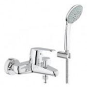 Смеситель для ванны с душевым гарнитуром euphoria grohe eurodisc cosmopolitan фото