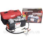 Компрессор ELEPHANT КА-20125 150psi/18Amp/60л/клеммы/фонарь/2 цилиндра фото