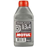 Motul DOT 3&4 Brake Fluid 0.5L фото